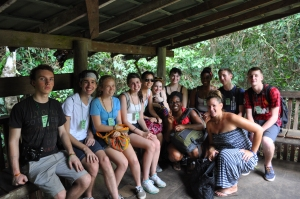 Our love group at Kakum