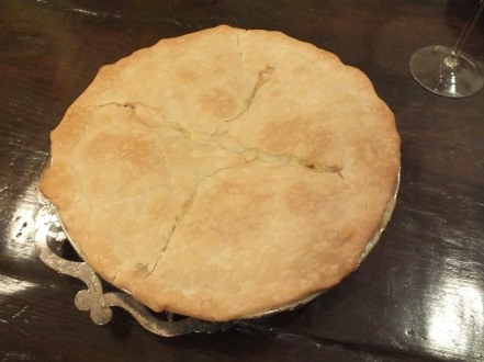 Chicken pot pie!