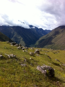 The apus (mountains).