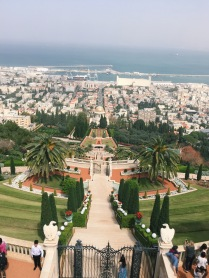 The Baha'i Garden in Haifa
