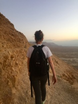 Hiking up Masada with Westtown as the sun rose