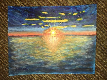 Magazine Cover Painting | Sunrise